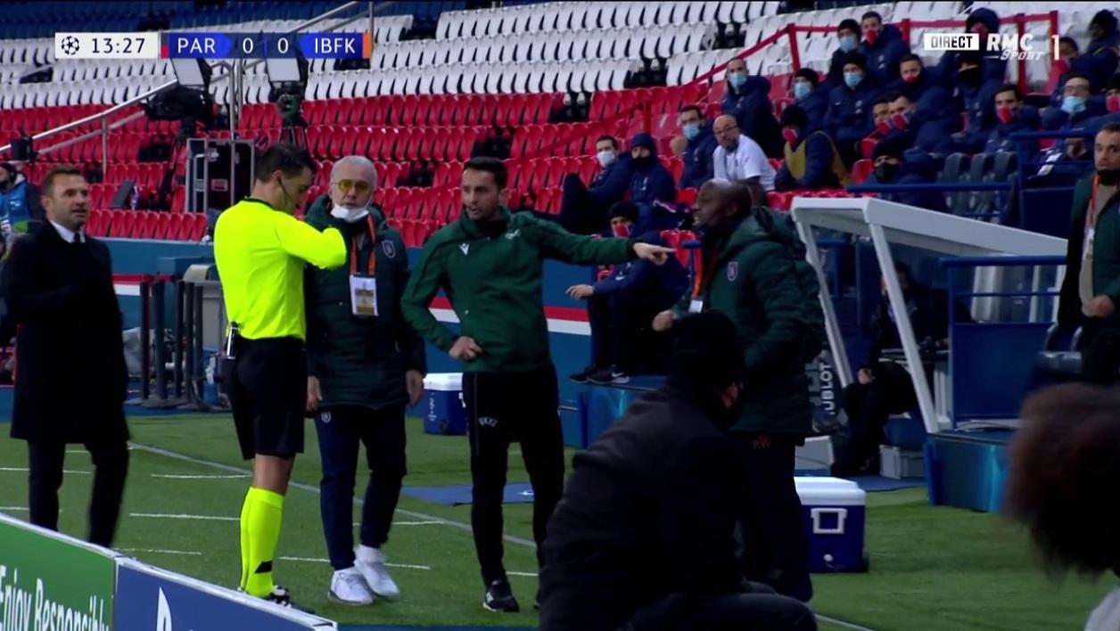 Le carton rouge infligé à Webo a été annulé par l'UEFA