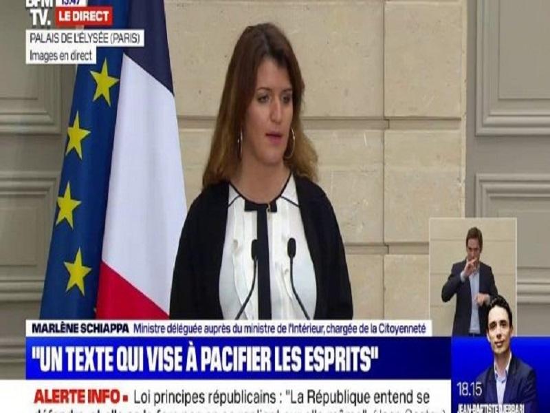Séparatismes: Marlène Schiappa annonce le retrait des titres de séjour accordés aux personnes polygames