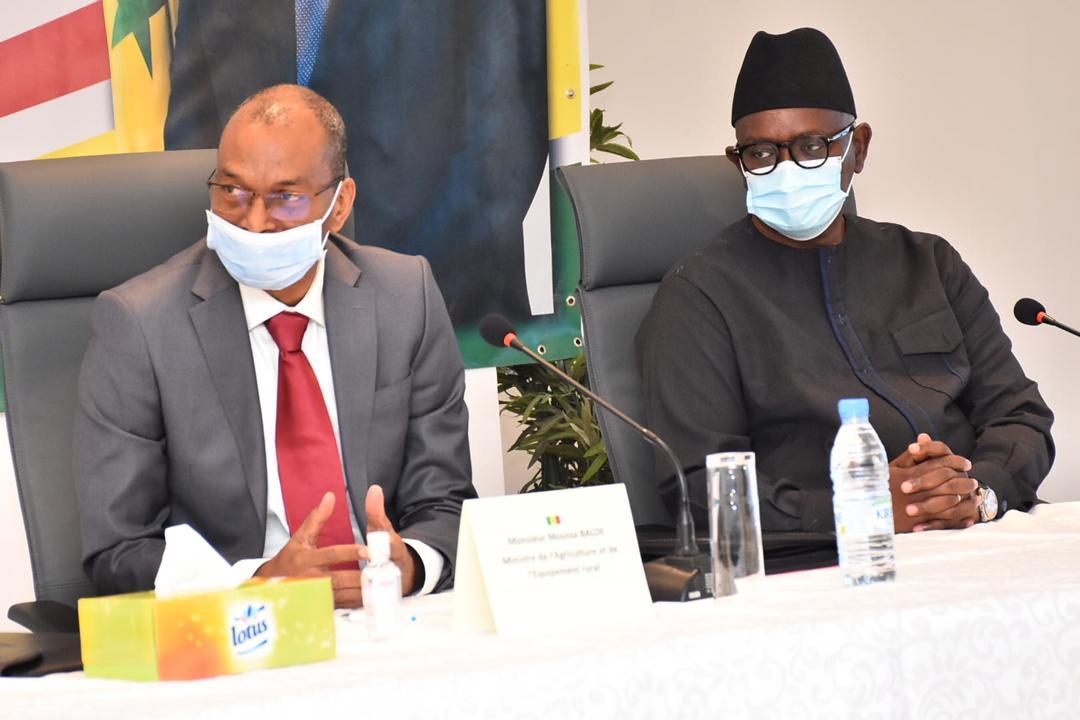 Abdou Latif Coulibaly dormait à poings fermés lors de la Conférence presse du gouvernement
