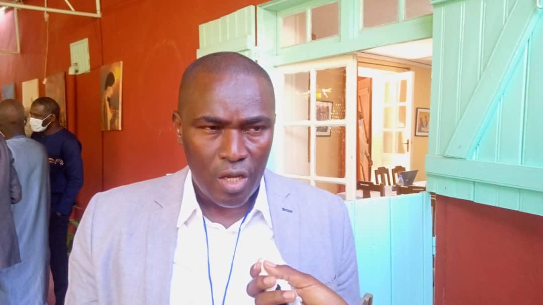 Mamadou Dimé, enseignant chercheur, à la section de Sociologie de l'Université Gaston Berger de Saint-Louis