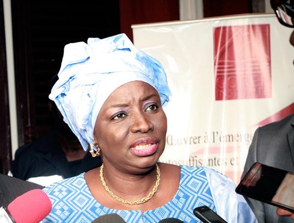 Gestion CESE: la mission de l'IGE ne perturbe pas le sommeil de Mimi Touré