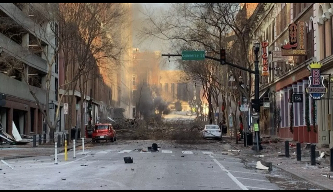 """Explosion à Nashville : un """"acte intentionnel"""" selon la police"""