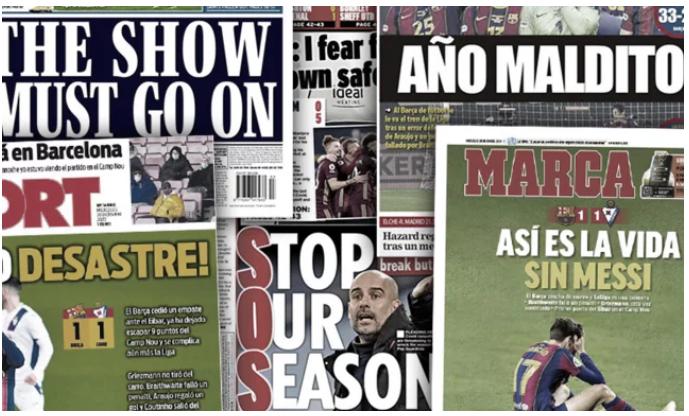 Le Barça se fait détruire après son nouveau désastre, la Premier League réfléchit sérieusement à s'arrêter