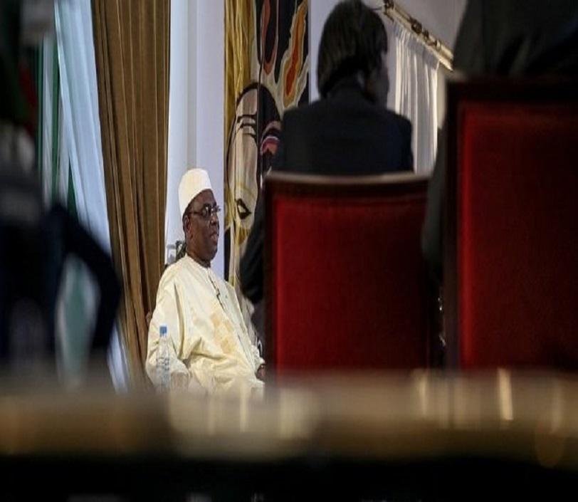 Macky Sall face à la presse, jeudi 31 décembre après son discours à la Nation