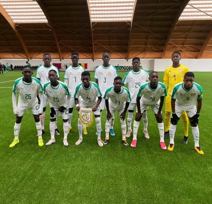 Amical - U17: le Sénégal bat le Maroc (1-0)