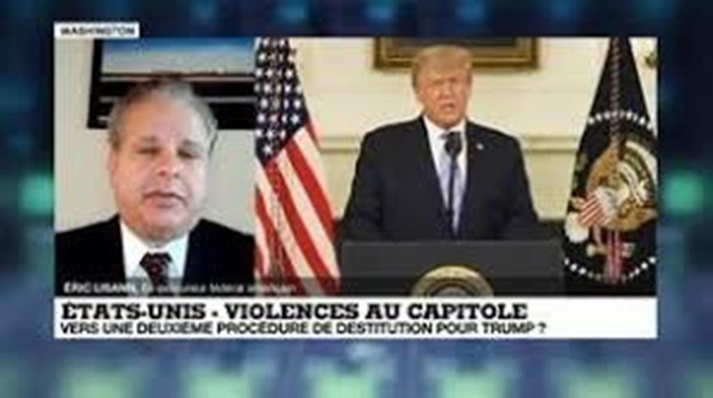 Violences au Capitole : les démocrates menacent Donald Trump d'une procédure de destitution