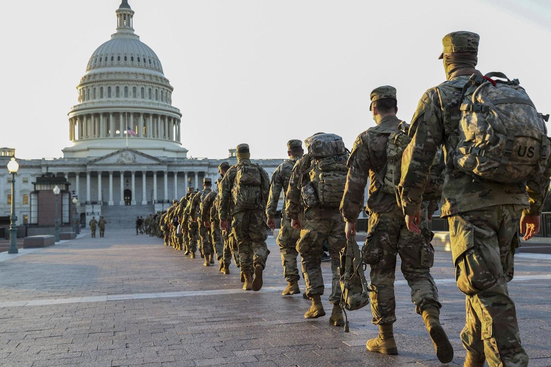 Washington en état de siège à six jours de l'investiture de Joe Biden