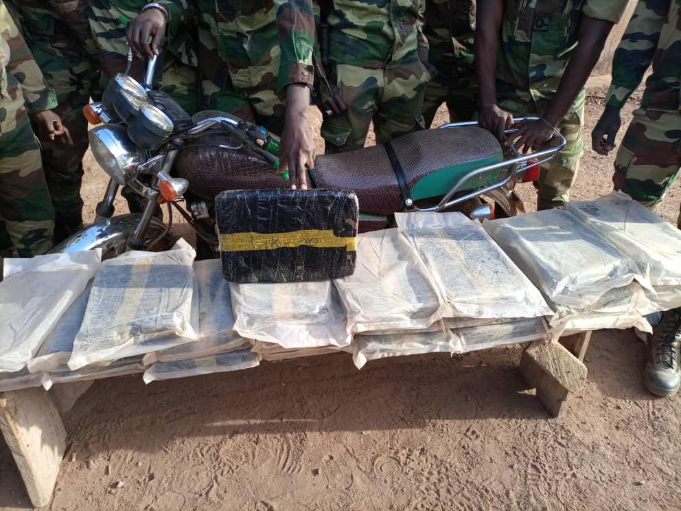 Kédougou : 34 Kg de chanvre indien saisis par la gendarmerie