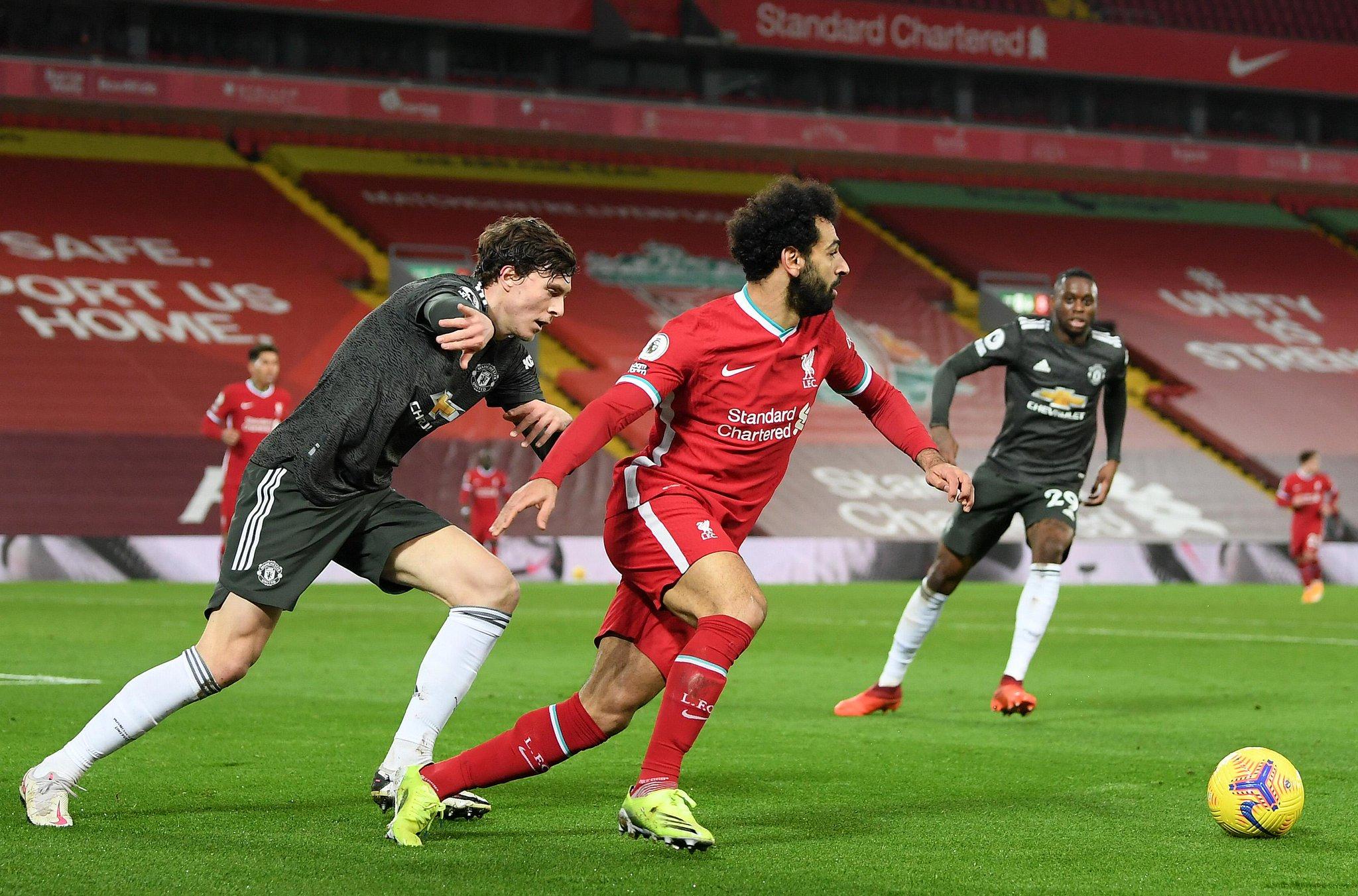 Manchester United décroche un nul à Liverpool après un match intense mais pauvre en occasions
