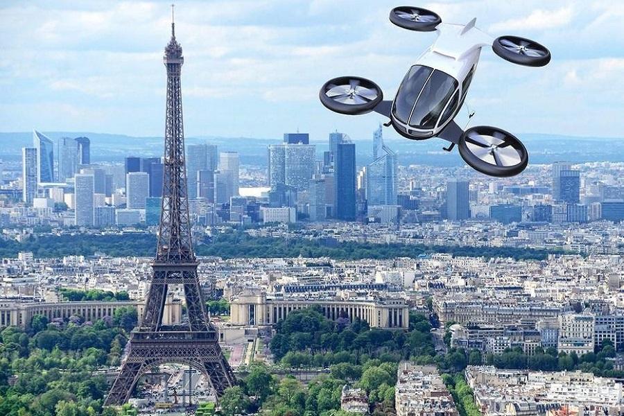 Les taxis volants feront leur premier vol d'essai en juin !