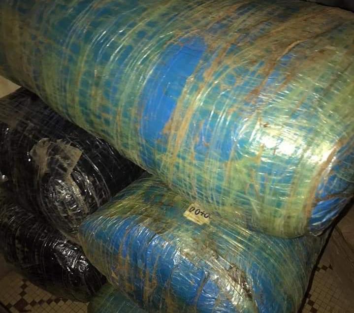 La Douane sénégalaise saisit 634 kg de chanvre indien à Koungheul et à Mbour