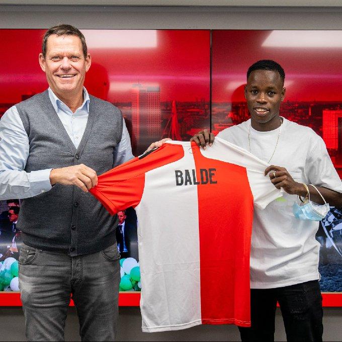 Mercato: le meilleur buteur du championnat sénégalais, Alioune Badara Baldé débarque à Feyenoord Rotterdam