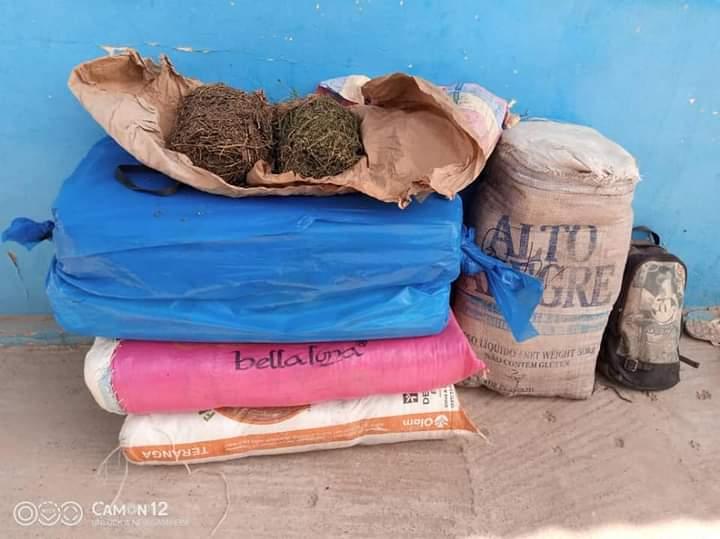 Sédhiou: 64 kg de chanvre indien et des produits pharmaceutiques saisis à bord de 2 motos
