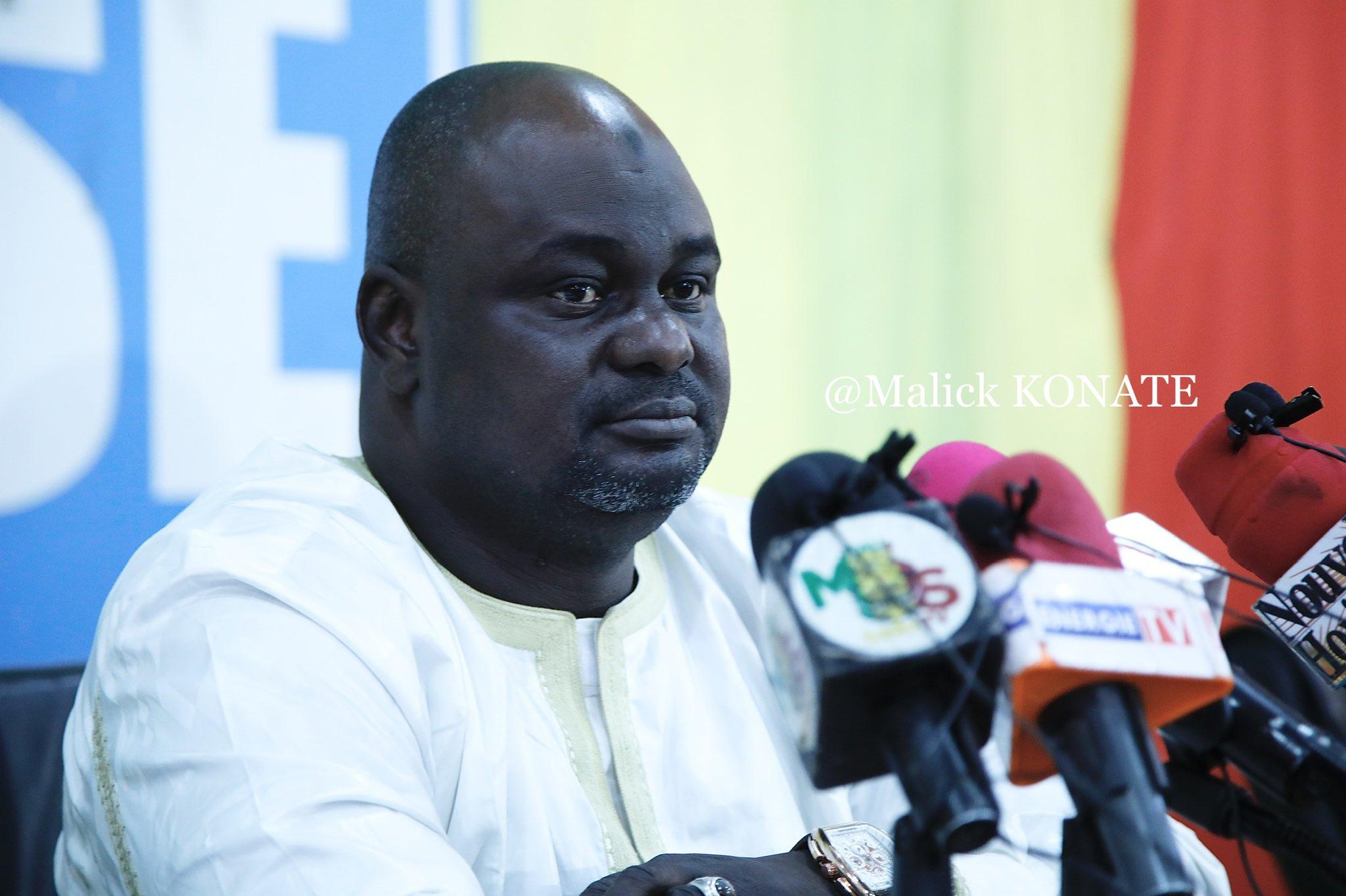 Mali: Bandiougou Danté élu président de la Maison de la presse
