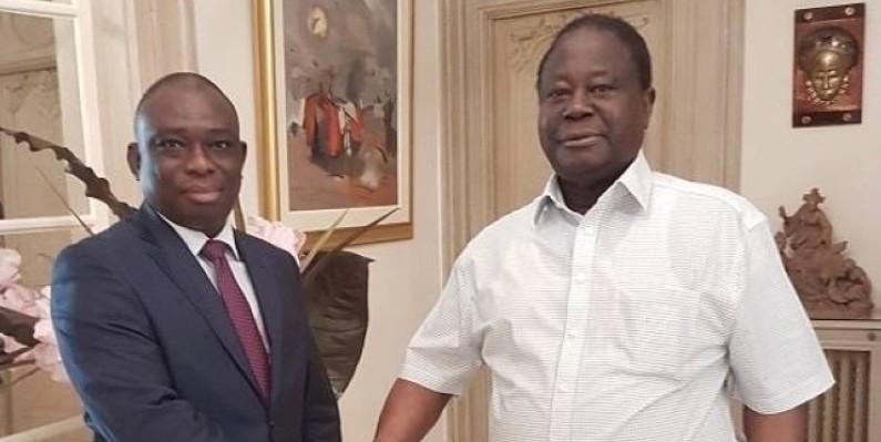 Côte d'Ivoire : Macky Sall réconcilie Bédié et Konan Kouadio Bertin