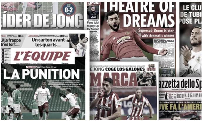 De Jong met enfin tout le monde d'accord au Barça, le transfert de Hazard au Real dans le collimateur de la justice