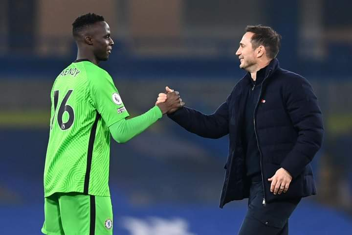 Le message émouvant de Édouard Mendy à Frank Lampard