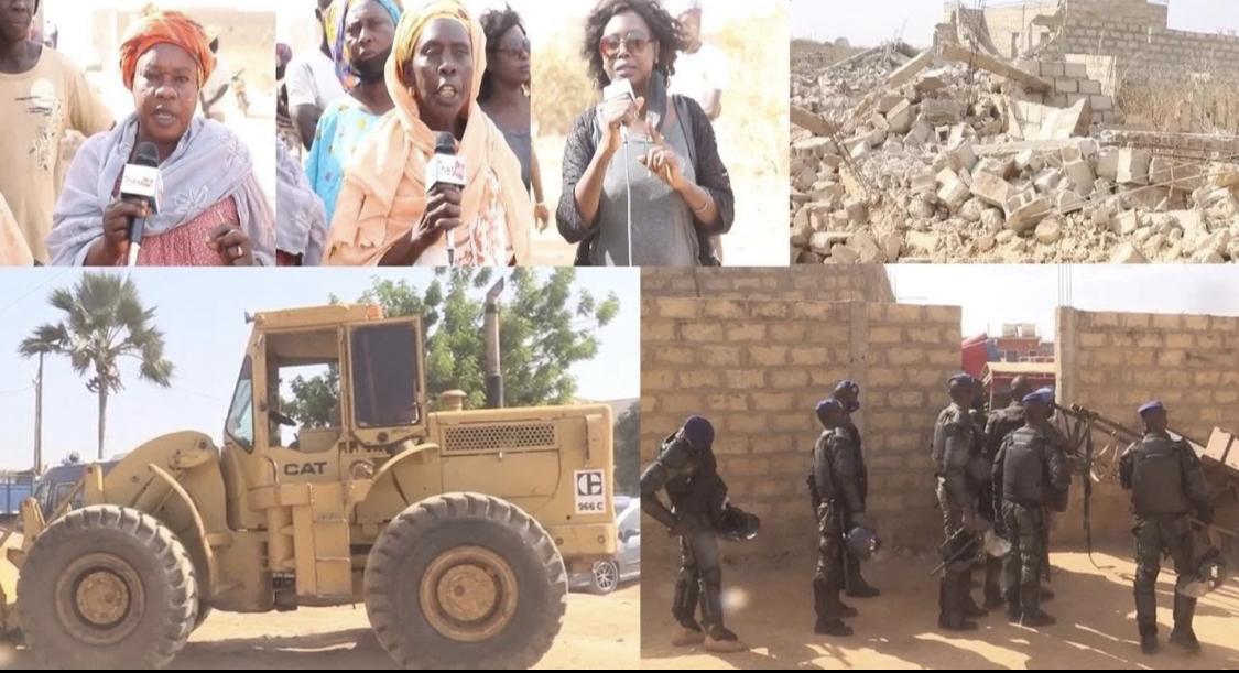 Le Collectif des victimes de démolition de Mbour 4 reçu par le chef de l'Etat