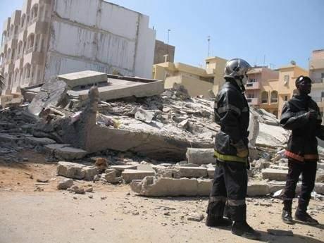 Pout: un immeuble en construction de l'entreprise 3MD Energy s'effondre sur les ouvriers