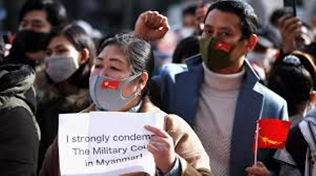 Après le coup d'État en Birmanie, une pluie de condamnations internationales
