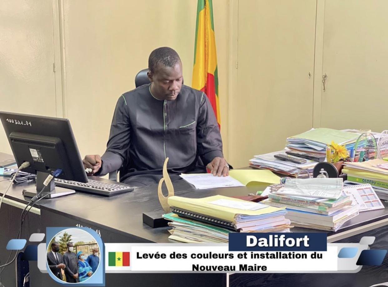 Mairie de Dalifort:  Mamadou Mbengue a pris fonction ce lundi