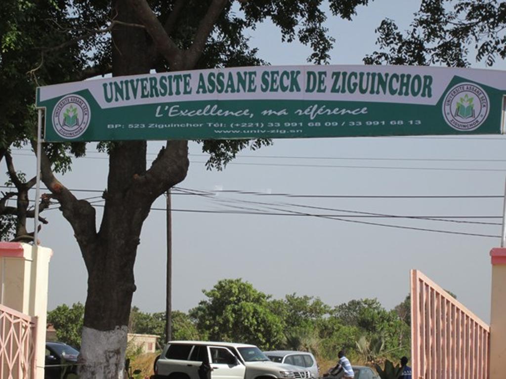 Ziguinchor : 4 cas positifs enregistrés l'université Assane Seck