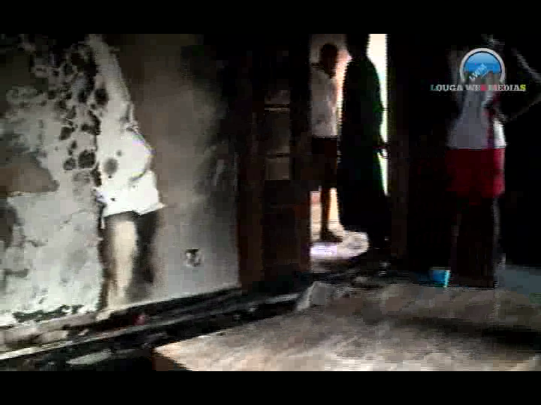 Louga : le domicile de Mamour Diallo incendié, les partisans d'Ousmane Sonko indexés