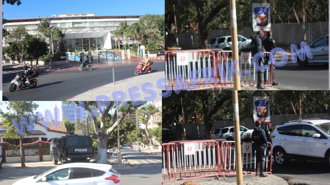 Levée immunité parlementaire de Sonko: l'Assemble nationale aux allures de forteresse bien gardée