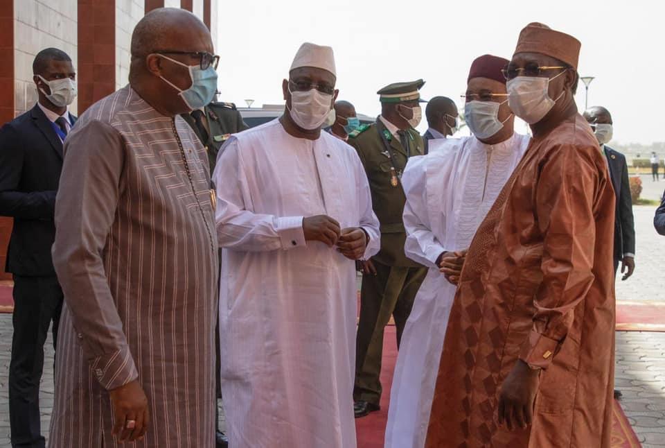 Sommet G5 Sahel: Macky contribue à hauteur d'1 millard FCFA «en soutien aux urgences»