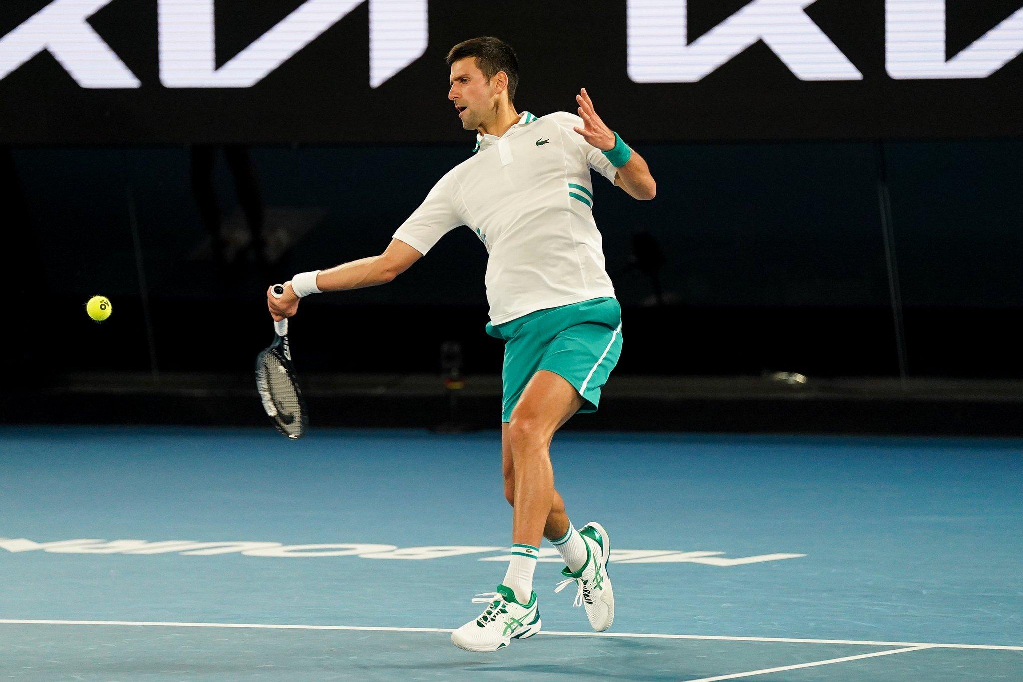Open d'Australie: Djokovic remporte son 18ème titre majeur