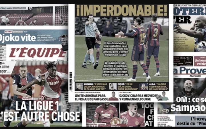 La presse espagnole cartonne le FC Barcelone, les chiffres fous de Manchester City en Premier League