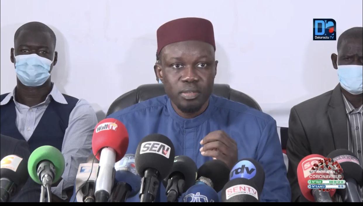 Ousmane Sonko face au Doyen des juges : « Je ne fais confiance en la justice et je ne vous fais pas confiance »