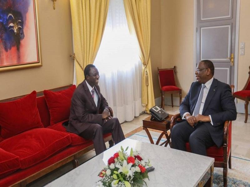 Décès de Thione Seck : Les condoléances du président Macky Sall