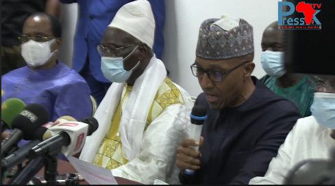 Rencontre FRN-délégation du Khalife des Mourides: les exigences du FRN au Chef de l'Etat (Vidéo)