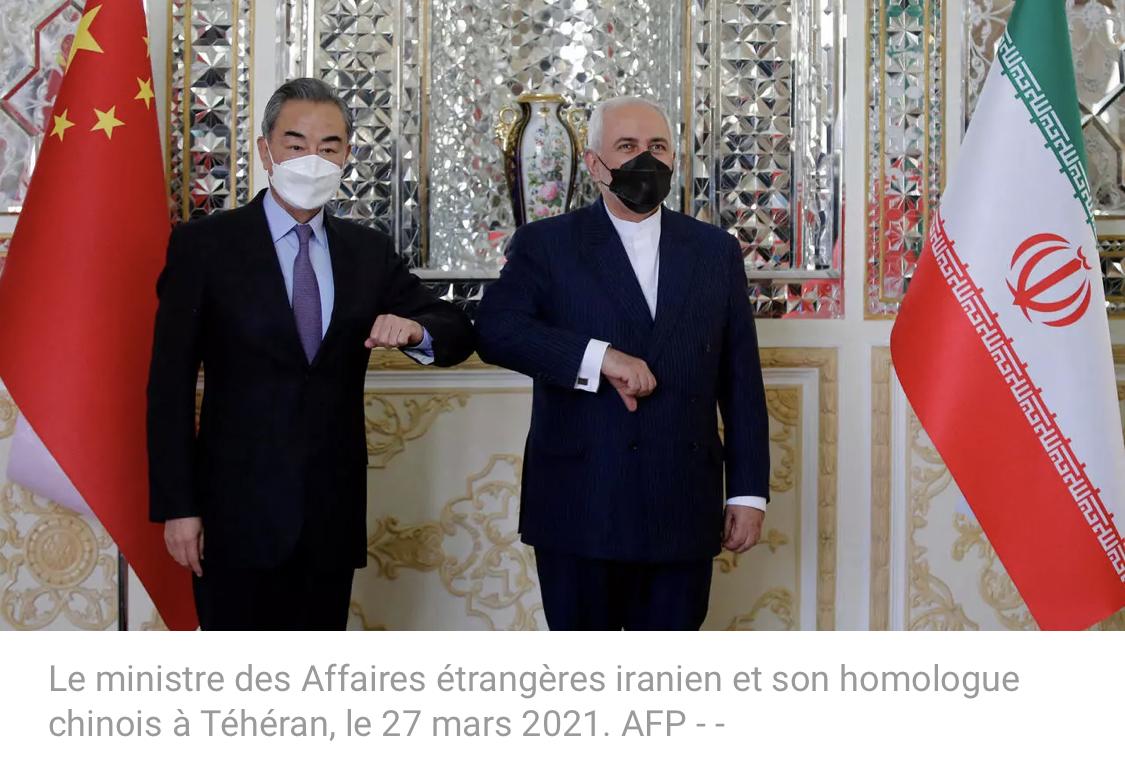 Iran et Chine ont signé à Téhéran un «pacte de coopération stratégique de 25 ans»