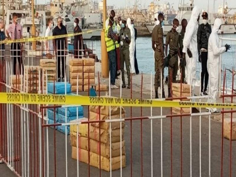 Trafic présumé de cocaïne: un navire turc intercepté dans les eaux sénégalaises, la cargaison suspect jetée en mer