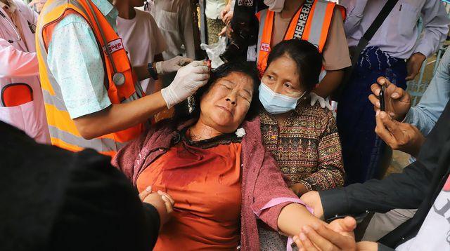 Birmanie: 543 civils dont 44 mineurs ont été tués depuis le coup d'État du 1er février (ONG)