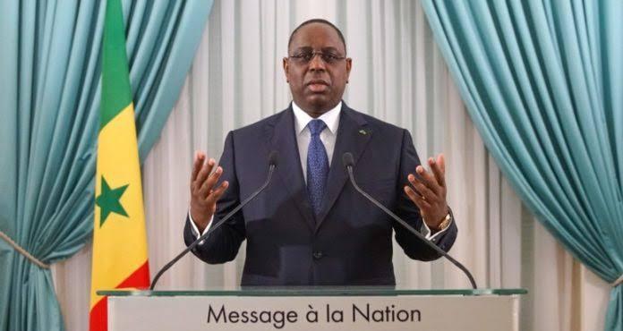Adresse à la Nation: «nul n'a le droit de mettre en péril les Institutions et principes qui gouvernent à la démocratie», tonne Macky Sall