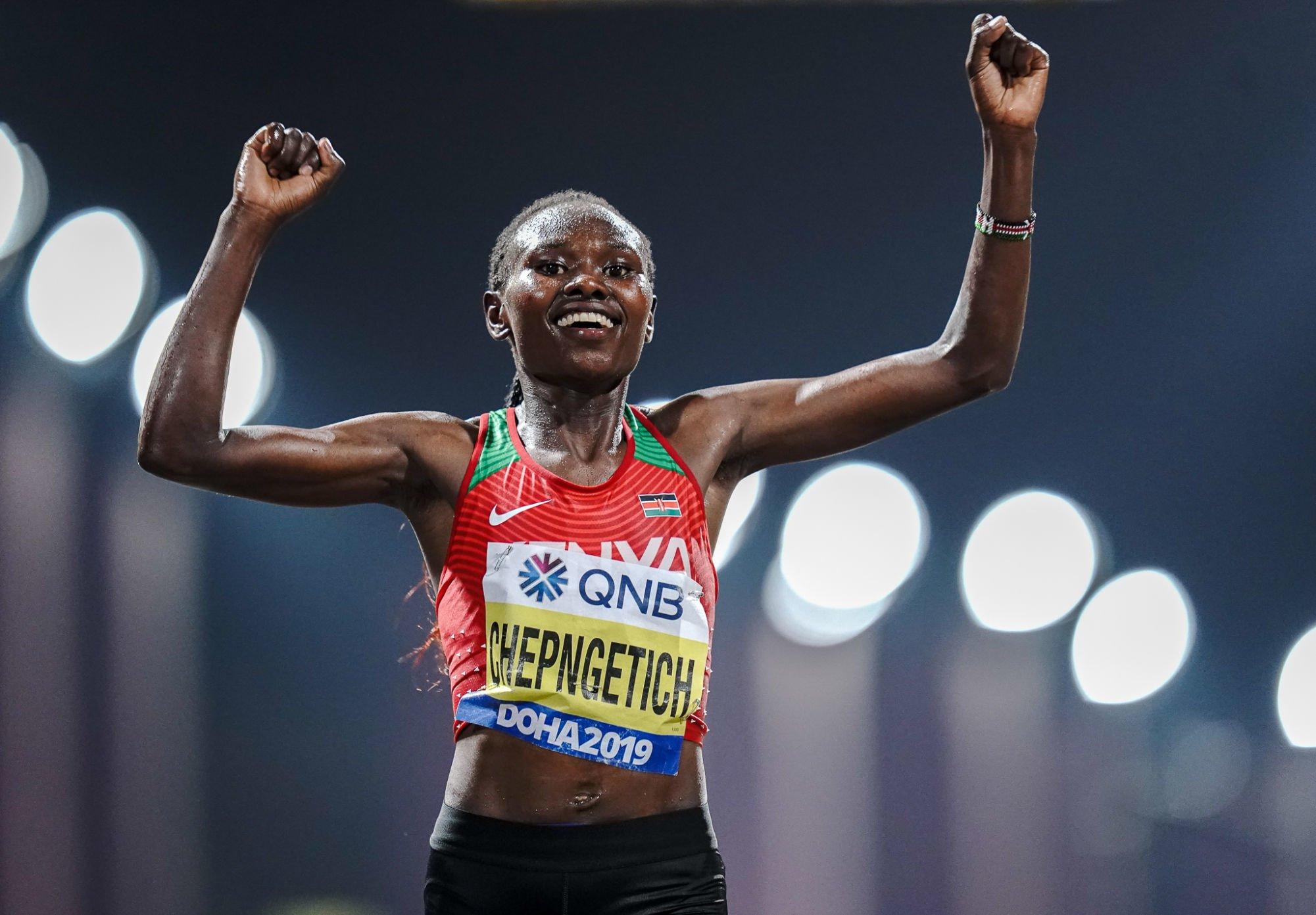 La Kényane Ruth Chepngetich bat le record du monde du semi-marathon à Istanbul