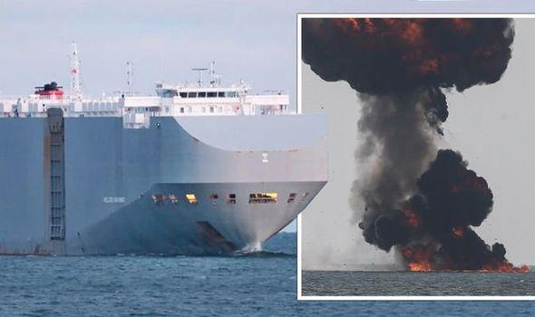 Un navire iranien victime d'une explosion en mer Rouge, Israël soupçonné