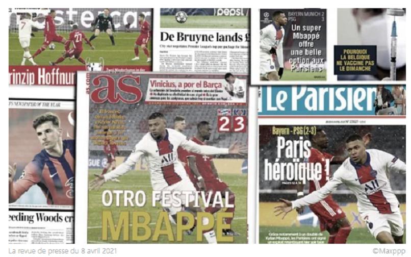 La masterclass de Mbappé avec le PSG régale la presse européenne, le montant astronomique du nouveau contrat de Bruyne