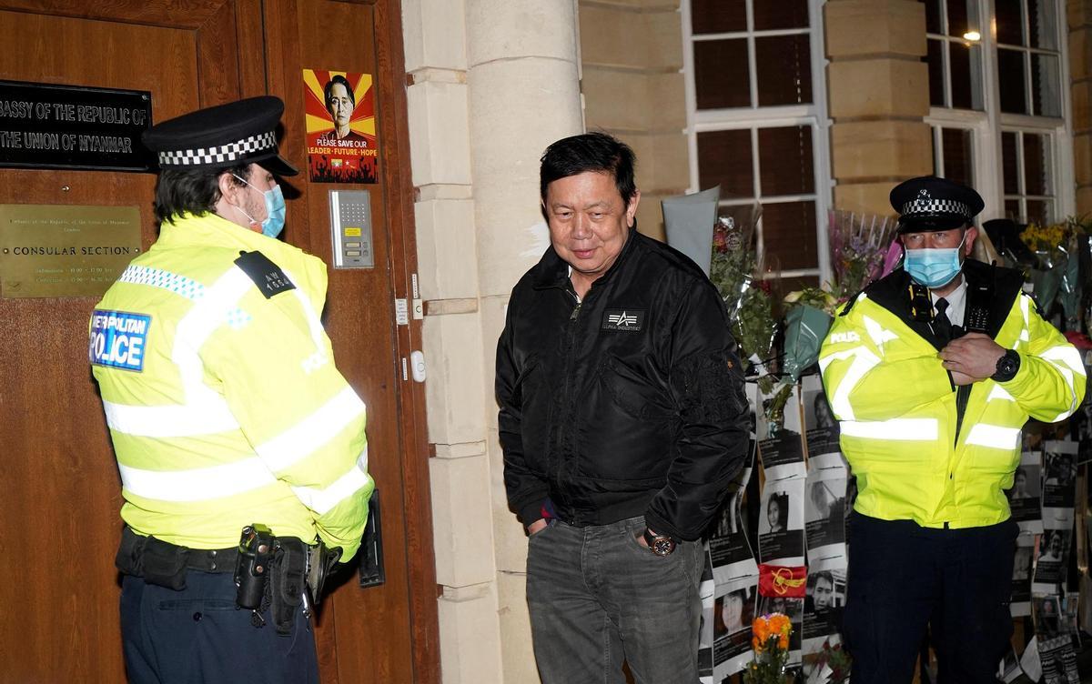 Royaume-Uni: les autorités birmanes ont relevé de leur fonction l'ambassadeur en poste à Londres