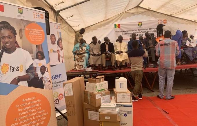 L'UNFPA et la mairie de Fass Gueule-Tapée lancent un ouvrage sur la Capture du dividende démographique