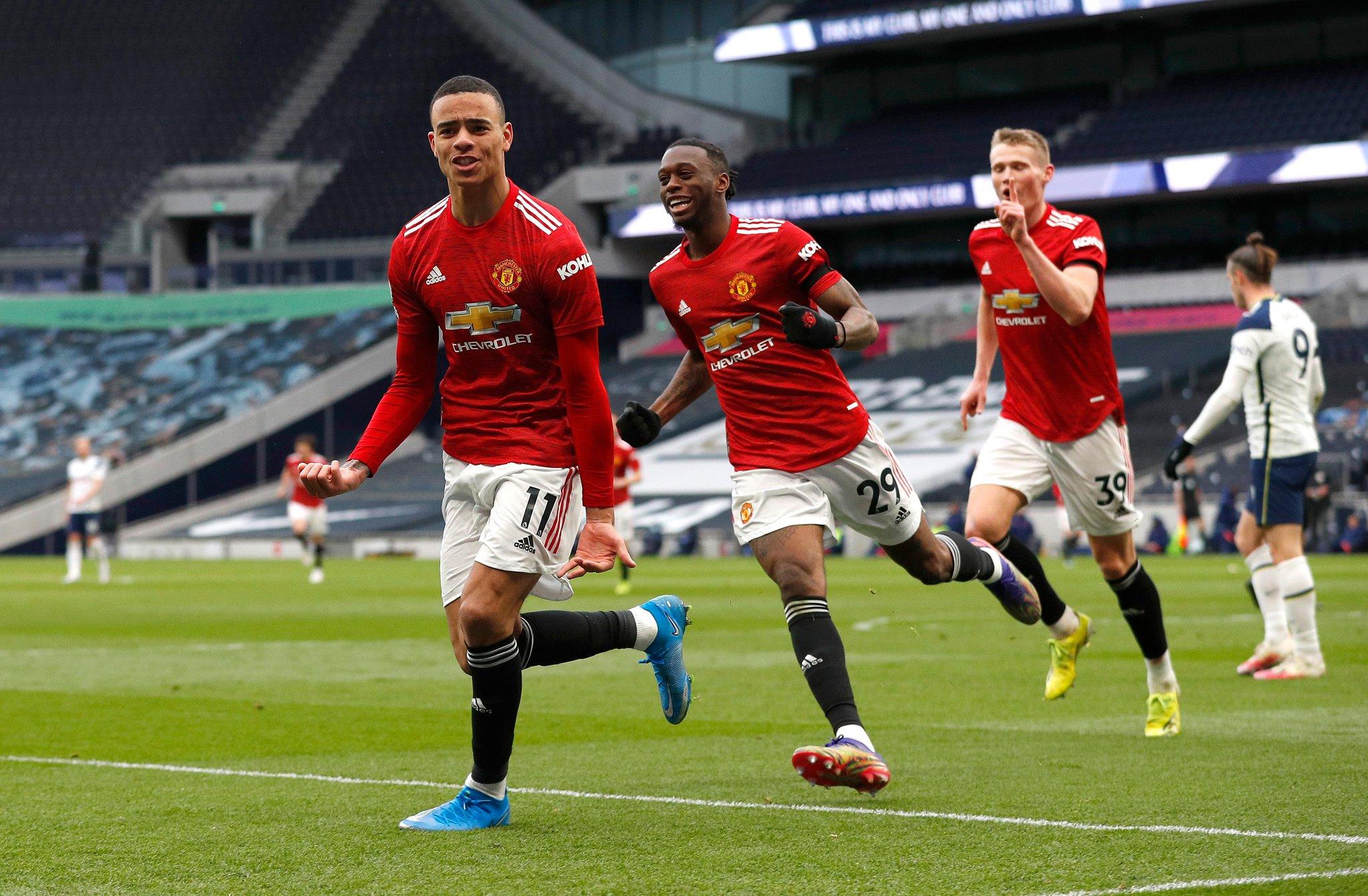 Premier League: Manchester United bat Tottenham et entretient le rêve de rejoindre City