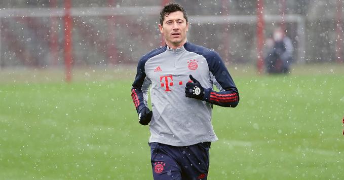 Bayern: Robert Lewandowski reprend service