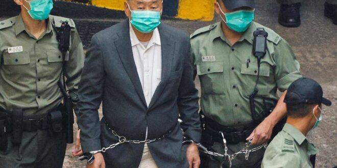 Manifestations à Hong Kong: 14 mois de prison pour le magnat de la presse Jimmy Lai