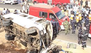 Fatick: 7 morts dans une collision entre un camion et un bus