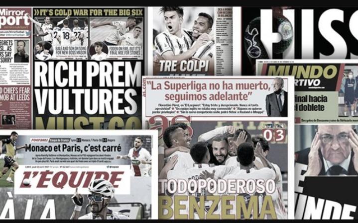 Les têtes pensantes de la Super League sont mises à prix en Europe