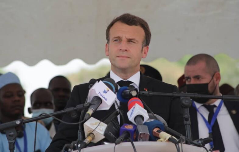 « La France ne laissera jamais personne menacer la stabilité et l'intégrité du Tchad », déclare Emmanuel Macron