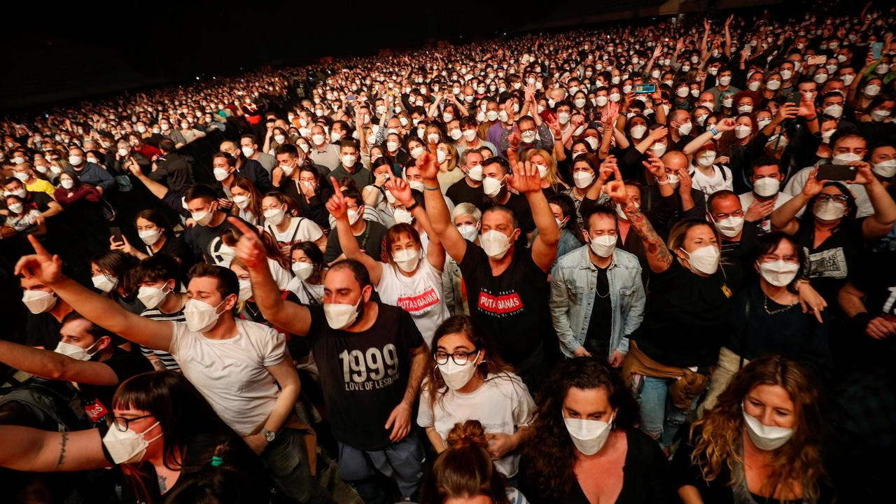 Covid-19: le concert-test à Barcelone est une réussite selon l'équipe scientifique